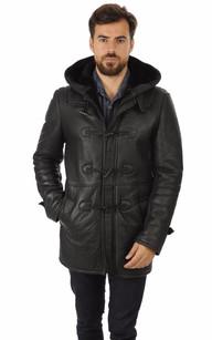 Duffle Coat Joachim Noir1