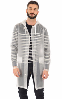 Rains - Imperméable transparent homme