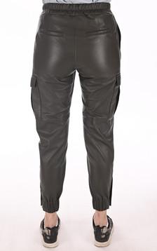 Pantalon Cargo cuir kaki