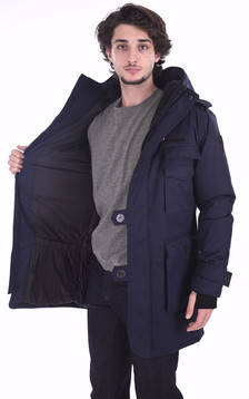 Parka Shelby navy