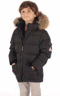 Ves Doudoune Authentic Jacket Boy Noir1