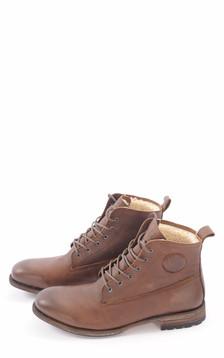 Boots Cuir Fourrées Mouton