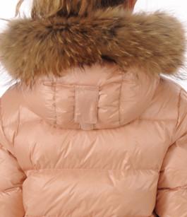 Doudoune Authentic Jacket Rose Poudré Fille Pyrenex
