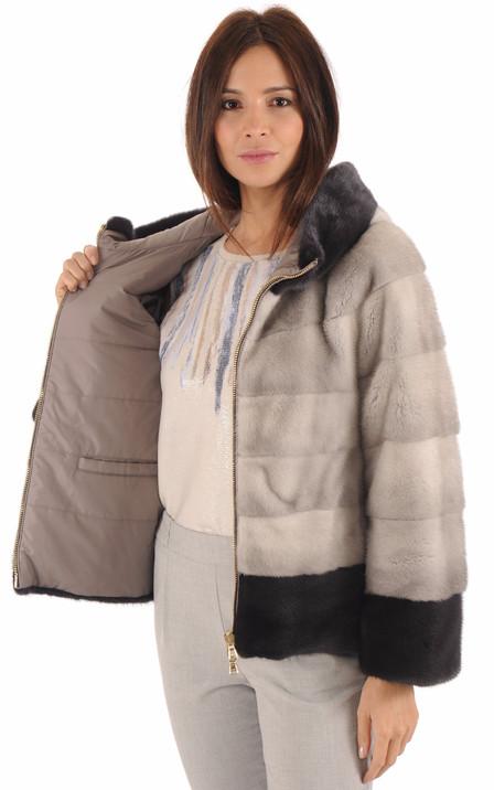 388f46f8f6c9b Blouson, veste, manteau en fourrure pour femme   Renard, Vison ...