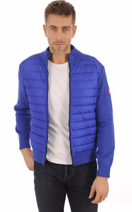 Gilet Hybridge Knit Pacific Blue