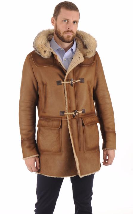 Duffle coat Homme, tous les styles de vêtements cuir, blousons et ... c8062bc724f4