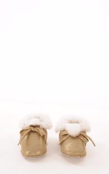 Chaussons Bébé Mouton Doré