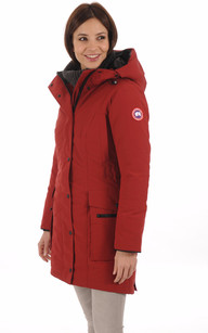 Parka Longue Kinley Redwood1