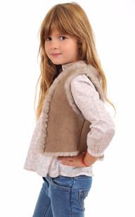 Gilet Enfant Agneau1