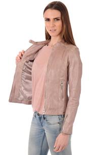 Blouson Femme Rosé Poudré