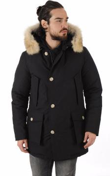 Parka Avec Fourrure Homme Artic Noir