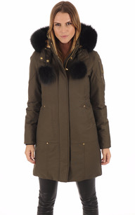 Parka GOVERNOR LAKE Kaki-Noir