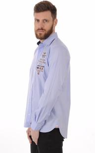 Chemise A.O.C Bleue1