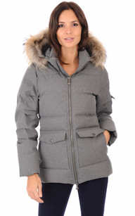 Doudoune Authentic Jacket Femme Ardoise