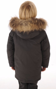 ARTIC PARKA Anthracite Junior