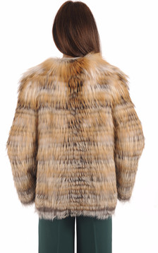 Veste Fourrure Naturel Renard