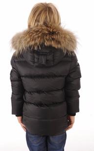 Doudoune Authentic Jacket  Noire Garçon