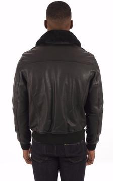 Blouson Vachette Lc2412 Noir