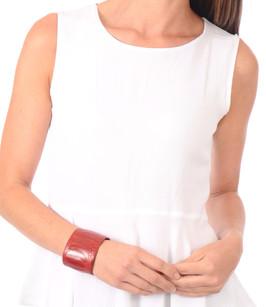 Bracelet Autruche Rouge Rarity