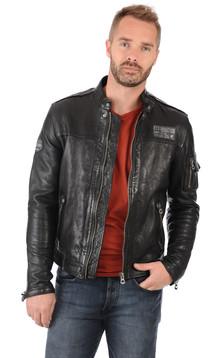 daytona homme blouson cuir veste en cuir daytona la canadienne. Black Bedroom Furniture Sets. Home Design Ideas