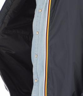 Coupe-vent Claude Warm bleu marine homme K-Way