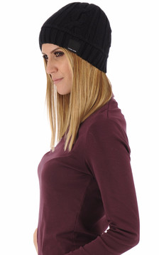 Bonnet Cable Toque noir1