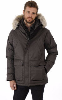 Parka Heritage Steel Grey