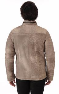 Outlet Homme : promo blousons en cuir, peaux lainées