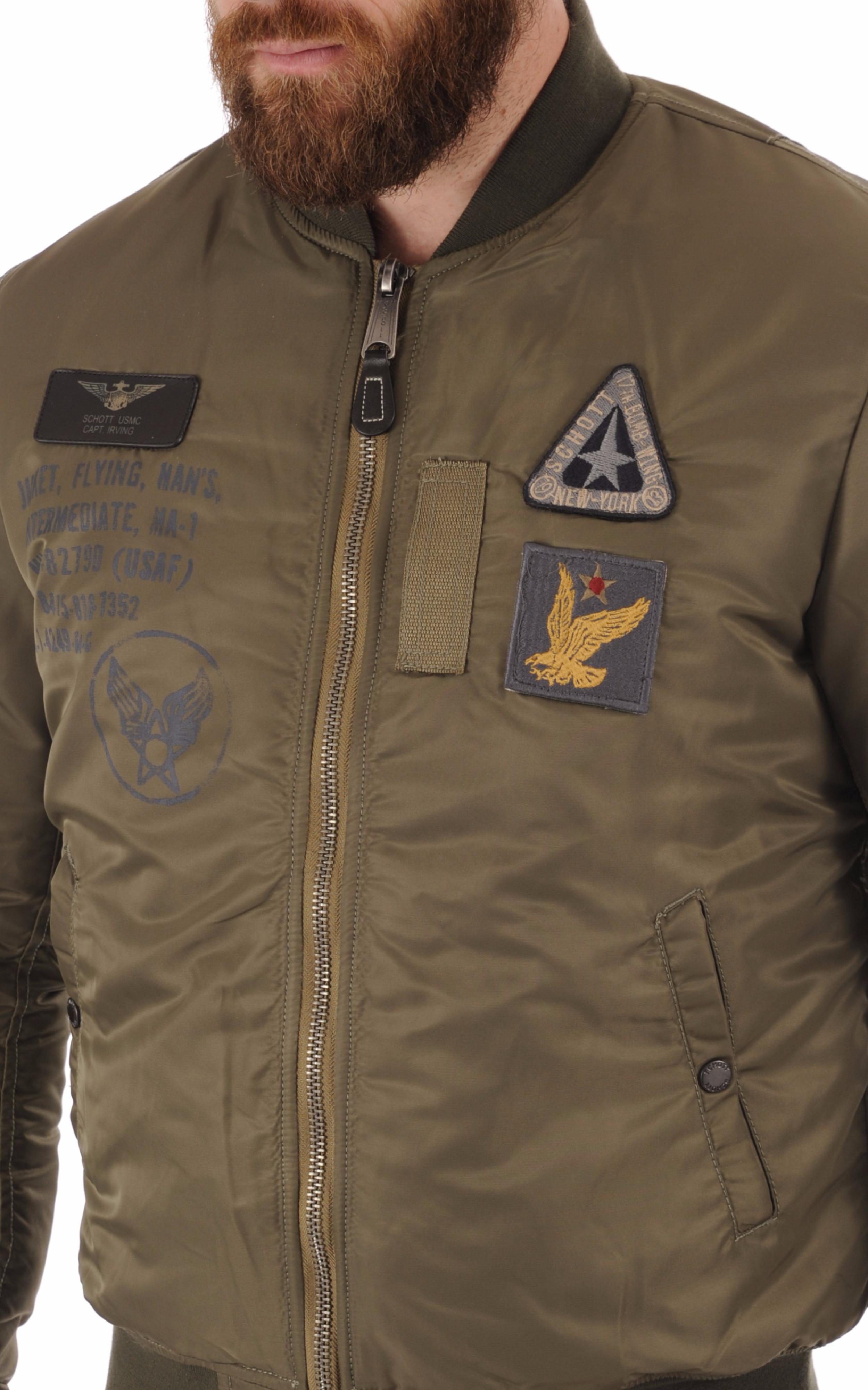 Bomber Airforce2 kaki Schott