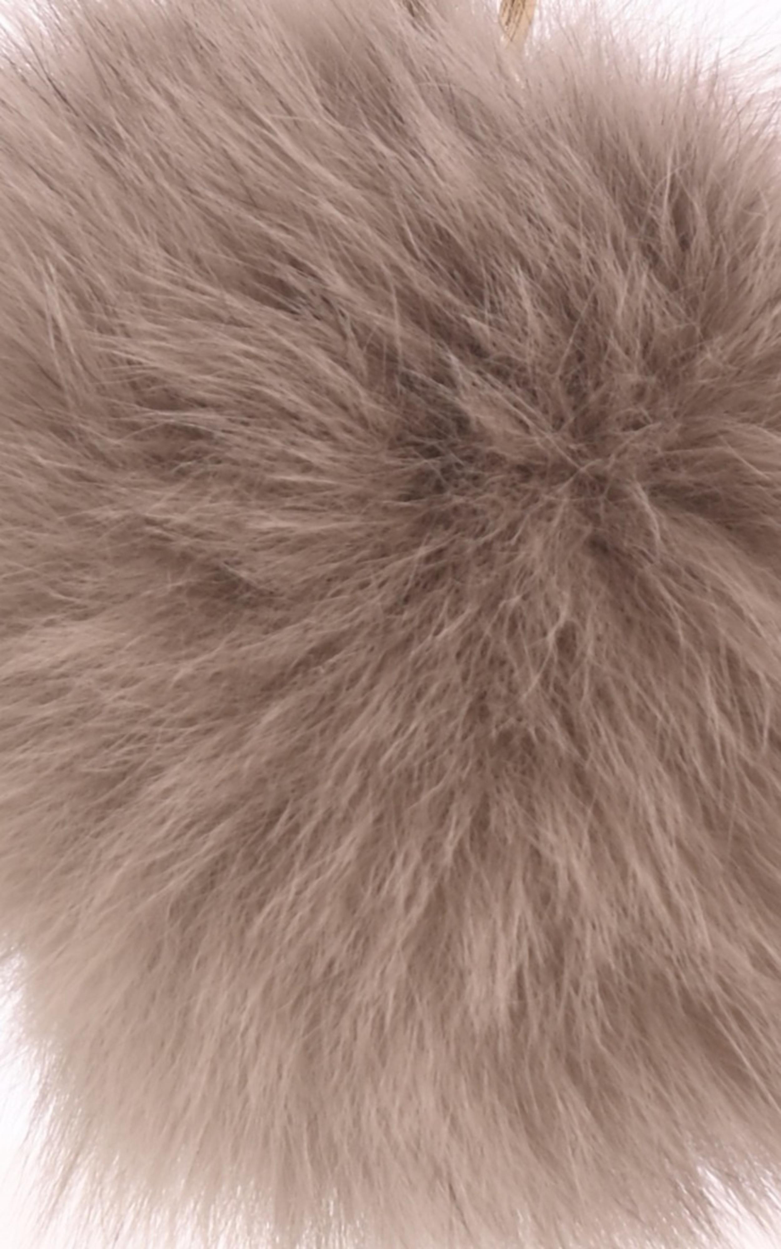 Porte-clé renard beige Oakwood