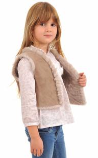 Gilet Enfant Agneau Petit Nord