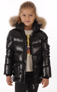 Doudoune Authentic Jacket Noire Fille1