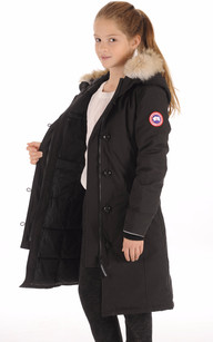 Parka Brittania Noir Canada Goose