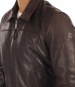Blouson Vachette Marron Homme Redskins