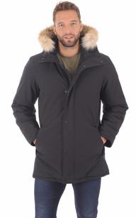 Manteau chaud femme capuche