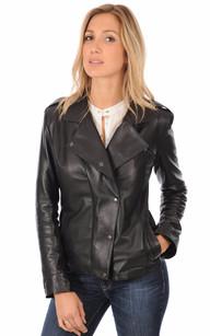 Veste Officier Coupe Confortable Femme