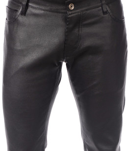 Pantalon Cuir Stretch Homme La Canadienne