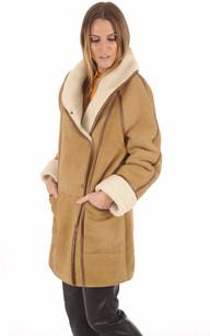 Veste Esprit Vintage Mouton Femme1