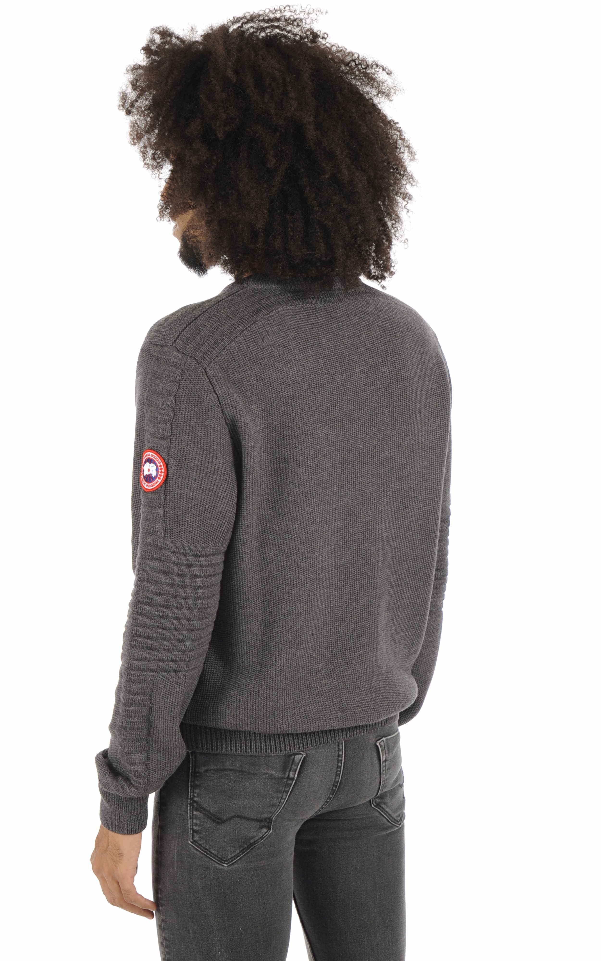 Pull Paterson iron grey Canada Goose