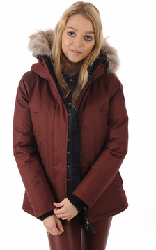 Parka Lindsay Bordeaux1