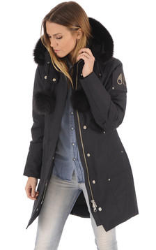 Doudoune longue Stirling Navy-Black1