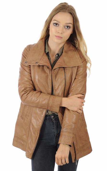 e035d43a019c4 Giorgio Femme | Blouson, veste en cuir, fourrure et daim Giorgio