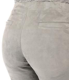 Pantalon Cuir Velours Stretch Steven-K