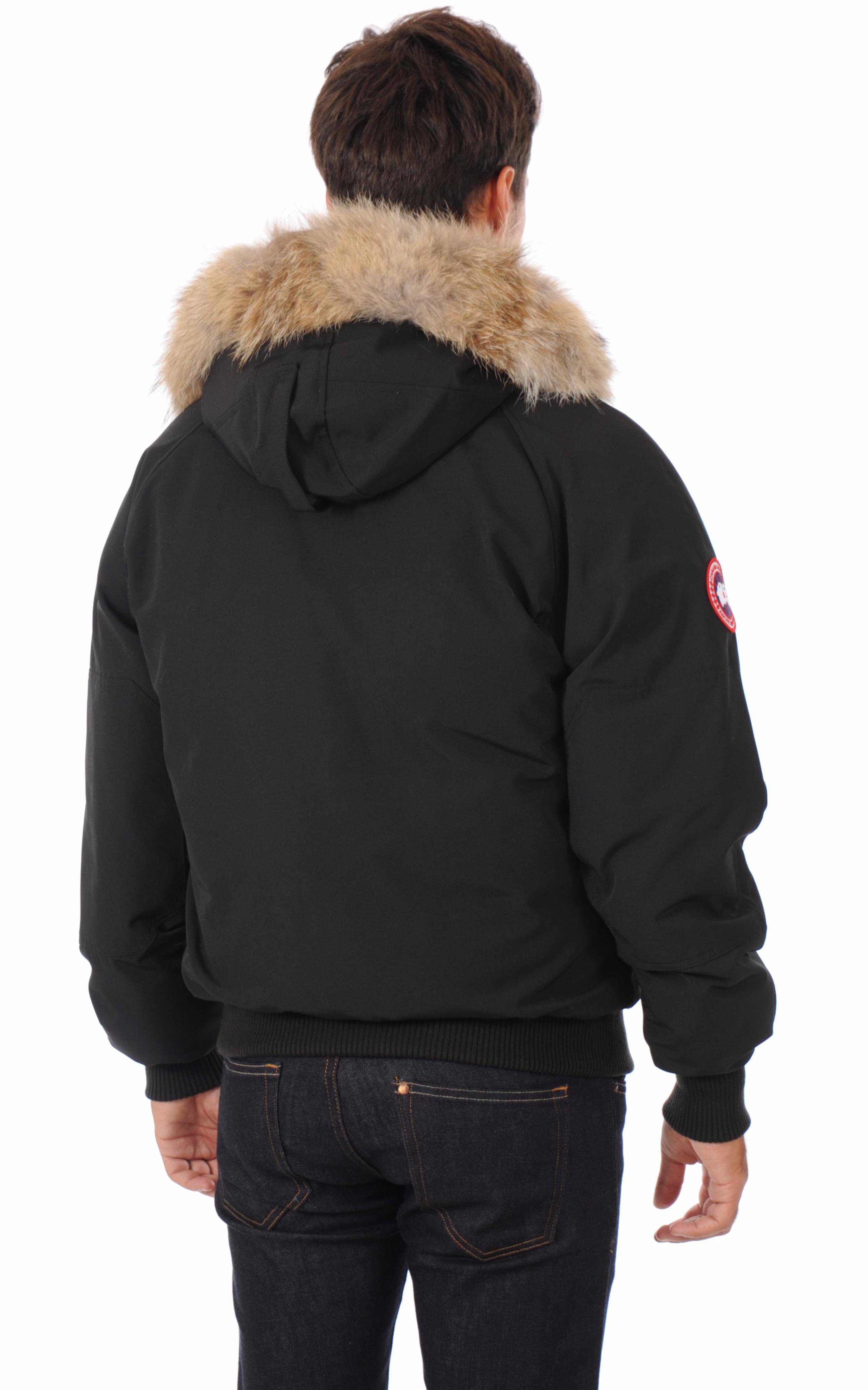 Blouson Chilliwack Noir Homme Canada Goose