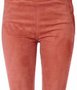 Pantalon Aspect Daim Femme Closed