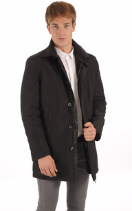 3/4 Textile et Lapin Noir Homme1