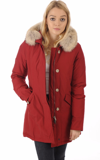 Parka W'S Arctic Rouge Cherry Woolrich