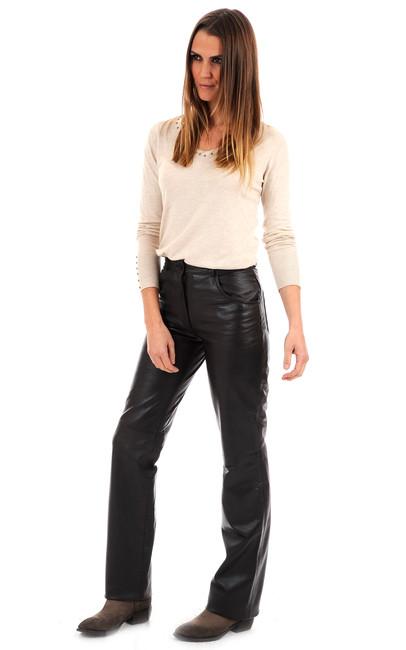 pantalon cuir femme maddox la canadienne pantalon. Black Bedroom Furniture Sets. Home Design Ideas