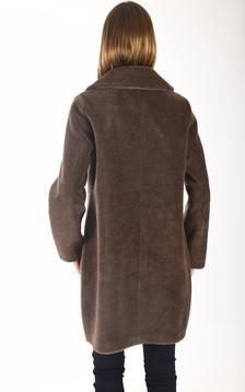 Manteau Venus marron
