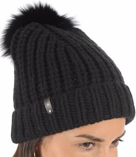 Bonnet Doris noir Mackage